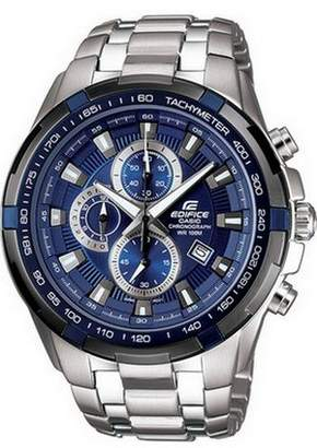 Edifice Casio Men's EF539D-2AV Stainless Steel Chronograph Tachymeter Sport Watch