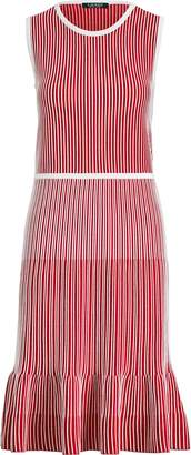Ralph Lauren Striped Fit-and-Flare Dress