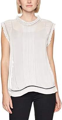 Sisley Women's Sleevless Blouse with Round NeckMedium