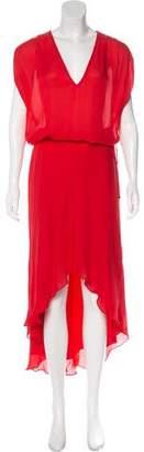 Haute Hippie Oversize Sleeveless Maxi Dress