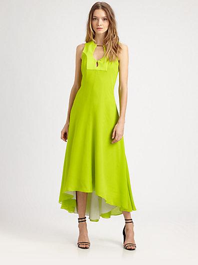 Diane von Furstenberg Starr Silk Chiffon Gown