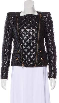 Balmain Structured Quilted Jacket