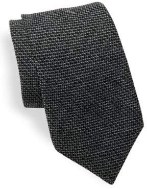 Ralph Lauren Purple Label Textured Wool-Blend Tie