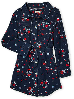 Levi's Toddler Girls) Floral Western Dress