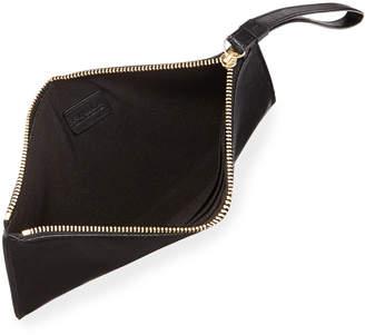 Furla Italia XL Saffiano Leather Wristlet Clutch Bag