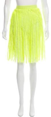 Christopher Kane Lace Knee-Length Skirt