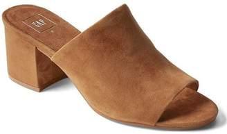 Gap Open-toe suede mules