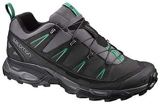 Salomon Men's Ultra LTR Low Rise Hiking Shoes, (Magnet/Black/Pine Green)