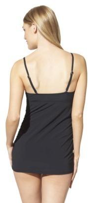 Sara Blakely ASSETS® By A Spanx® Brand Women's 1-Piece Swim Dress -Black
