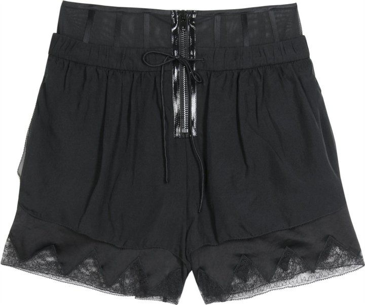 Alexander Wang Shorts With Detail Trim