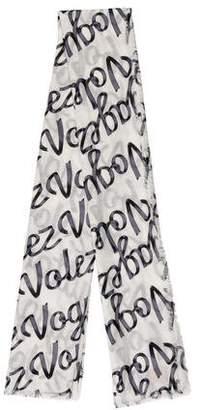Louis Vuitton 2016 Volez Voguez Voyagez Ribbon Stole