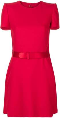 Alexander McQueen belted mini dress
