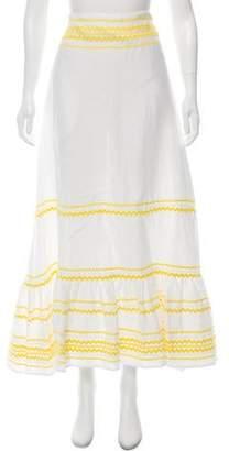 Lisa Marie Fernandez Linen Maxi Skirt w/ Tags
