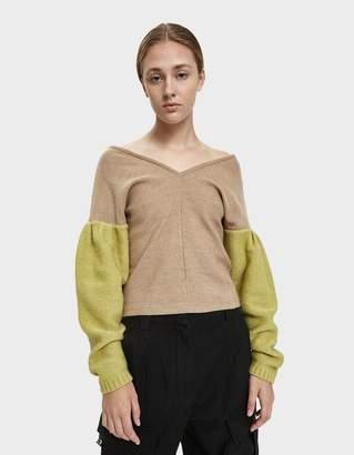 Rachel Comey Enhance Puff Sleeve Sweater