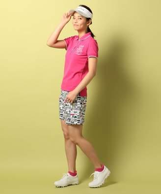 23区 (ニジュウサンク) - 23区GOLF 【WOMEN】トランスクールカノコ ポロシャツ(C)FDB