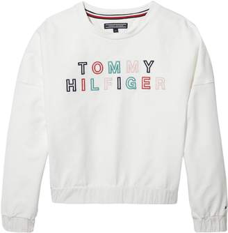 Tommy Hilfiger Girls Logo Sweat