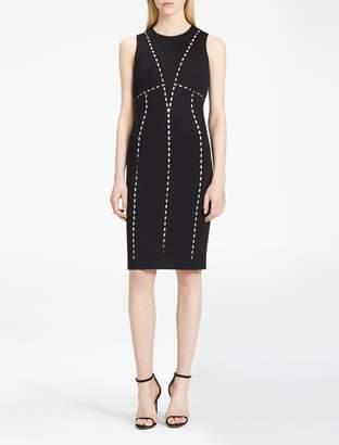 Calvin Klein cut-out sheath dress