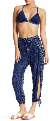 Lucky Brand Nomad Ankle Tie Pants