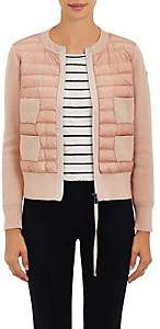 Moncler Women's Down-Quilted & Wool Sweater - Beige