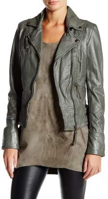 Muu Baa Muubaa Walmsley Leather Biker Jacket
