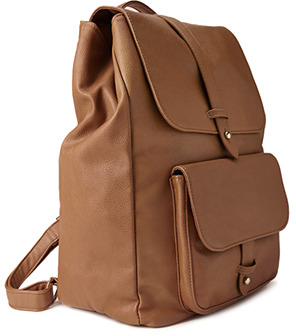 Forever 21 Forever Cool Faux Leather Backpack