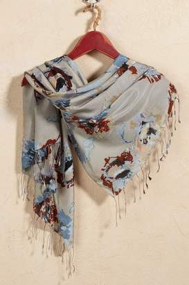 Soft Surroundings Lovely Flowers Scarf
