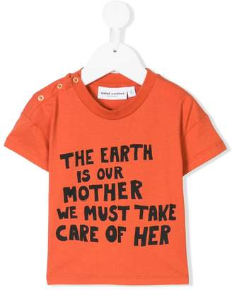 Mini Rodini mother earth print T-shirt