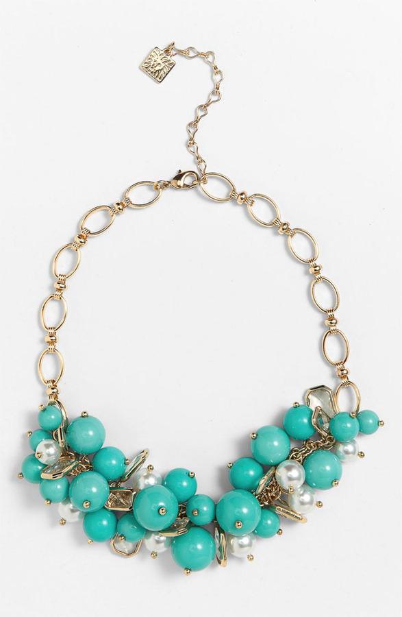Anne Klein 'Sorbet' Frontal Necklace