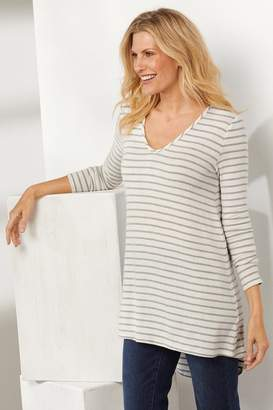 Soft Surroundings Claire Stripe Tunic