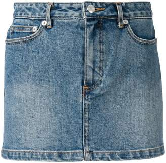 A.P.C. mini denim skirt