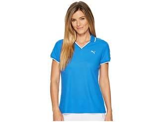 Puma Pique Polo Women's Short Sleeve Pullover