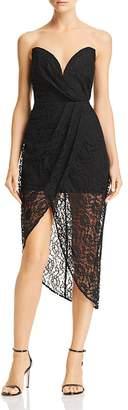 Lee SAU Jerri Strapless Lace Dress
