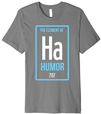 Ha The Element of Humor Periodic Table Premium T-Shirt