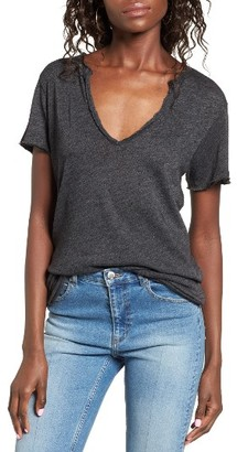 Women's Pst By Project Social T Raw Edge Tee $35 thestylecure.com