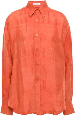 Tome Crinkled-silk Shirt