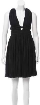 Jay Ahr Sleeveless Mini Dress