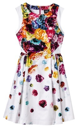 Prabal Gurung For Target® Dress w/ Full Skirt in Floral Crush Print