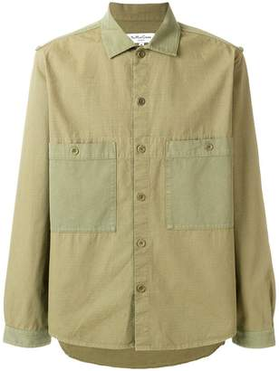 YMC chest pockets shirt