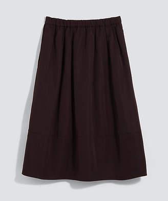 BPQC (ビーピーキューシー) - [BPQC] 【セール除外品】ウエストゴムグログランスカート