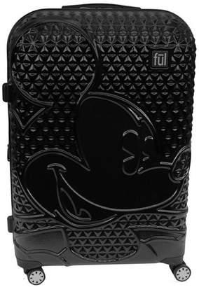 "Ful Disney Textured Mickey 25"" Hardside Spinner Suitcase"