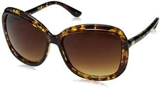 Jessica Simpson Women's J5387 TS Non-Polarized Iridium Square Sunglasses