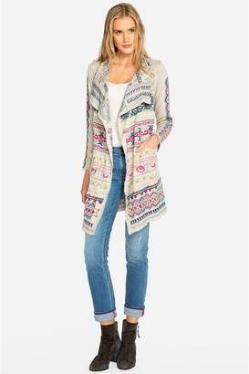Johnny Was Gyrot Patchwork Wrap