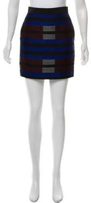 Proenza Schouler Wool Mini Skirt