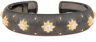 Buccellati 18k Macri Cuff Bracelet w/ Diamonds