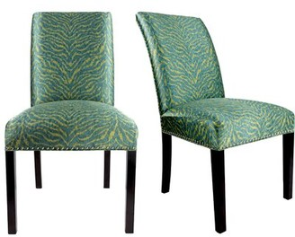 Everly Quinn Sayli Upholstered Contemporary Parsons Chair Quinn