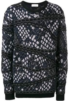 Faith Connexion intarsia knit jumper