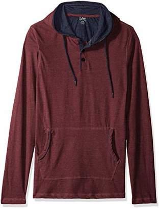 Lee Men's Long Sleeve Hoodie Sweatshirt