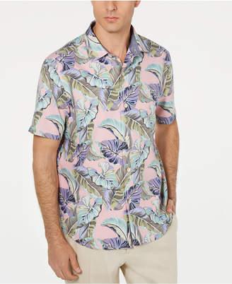 Tommy Bahama Men Let Be Fronds Hawaiian Shirt