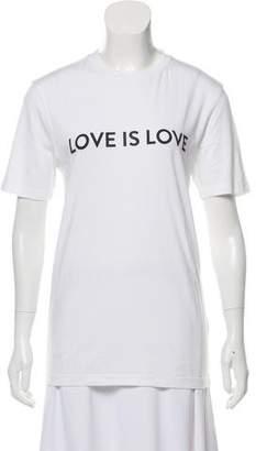 Prabal Gurung Short Sleeve Printed T-Shirt w/ Tags