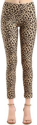Leopard Printed Stretch Lycra Leggings